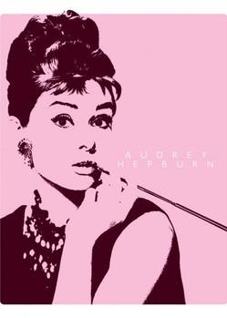 Poster AUDREY HEPBURN - cigarello