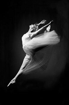 Poster Ballerina - grace in motion