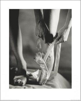 Ballett - Ballet Shoes Kunstdruck