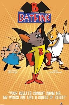 Poster BATFINK - orange