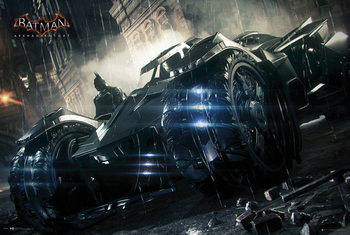 Poster Batman Arkham Knight - Batmobile