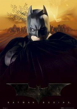 Poster BATMAN BEGINS - sunset