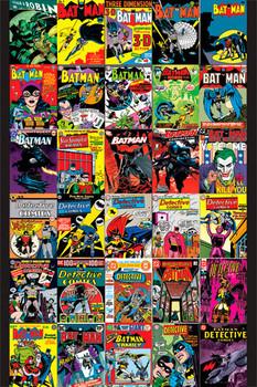 BATMAN - covers Poster
