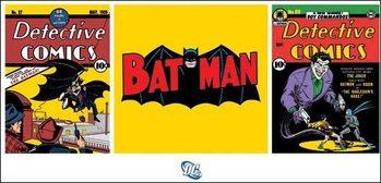 Batman - Triptych Kunstdruck