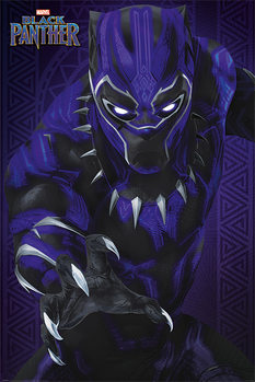 Poster Black Panther - Glow