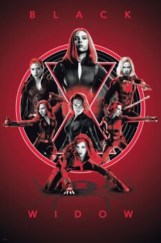 Poster Black Widow - Legacy
