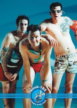 Poster Blink 182 - swimwear