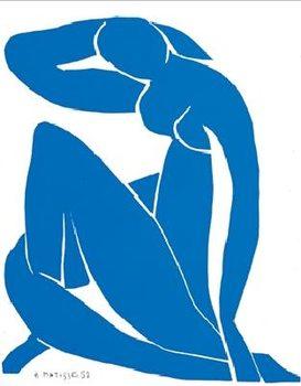 Konsttryck Blue Nude II, 1952