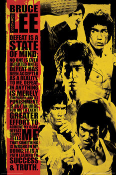 Poster Bruce Lee - Collage