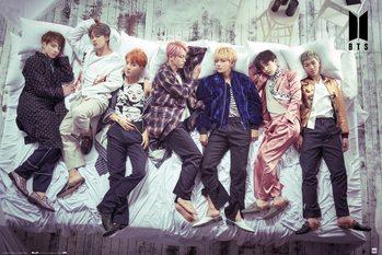 Плакат BTS - Bed