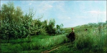 Konsttryck C.F.Daubigny - La Primavera