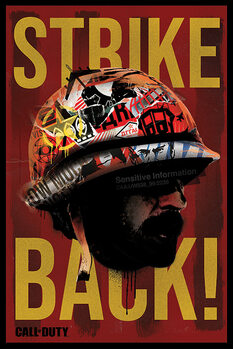 Плакат Call of Duty: Black Ops Cold War - Strike Back
