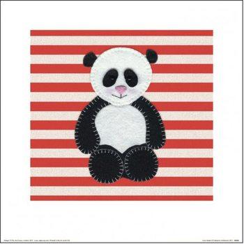 Catherine Colebrook - Panda Kunstdruck