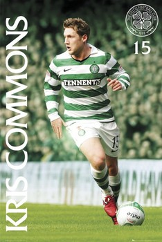 Poster  Celtic - kris commons 2010/2011