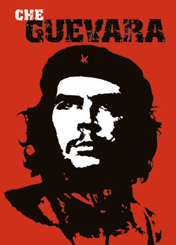 Poster  Che Guevara - red