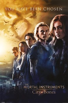 CHRONIKEN DER UNTERWELT – CITY OF BONES – chosen Poster