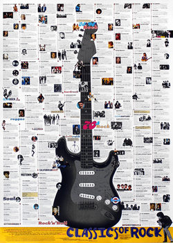 Poster Classics of rock