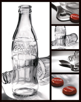 Poster COCA-COLA - photography