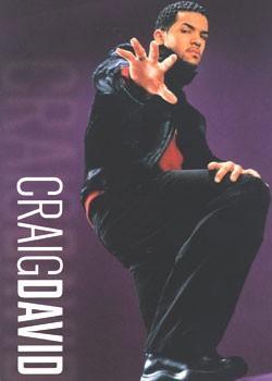 Poster CRAIG DAVID - hand