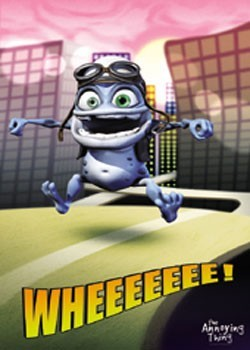 Poster Crazy Frog - City