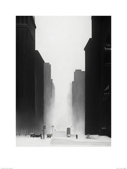 Konsttryck David Cowden - The Big City