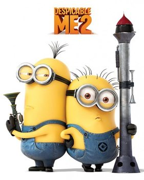 DESPICABLE ME 2 - armed minions poster