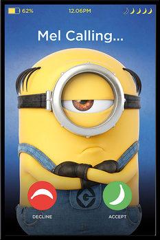 Poster Despicable Me (Dumma mej) 3 - Mel Calling