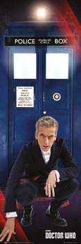 Poster  Doctor Who - Tardis and Doctor