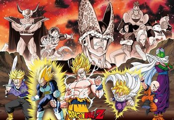 Poster Dragon Ball - DBZ/ Group Cell Arc
