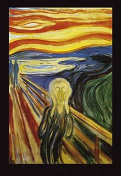 Poster Edvard Munch - Scream