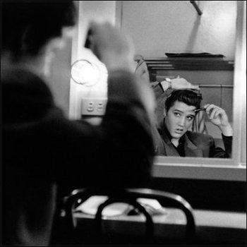 Elvis Presley - Mirror Poster