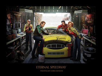 Eternal Speedway - Chris Consani Kunstdruck