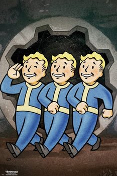 Póster Fallout 76 - Vault Boys