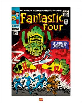 Fantastic Four Kunstdruck
