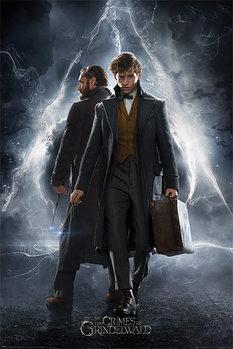 Poster Fantastiska vidunder: Grindelwalds brott - Newt & Dumbledore