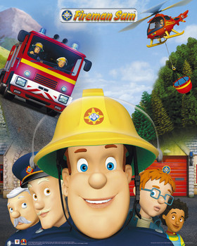 Poster Fireman Sam