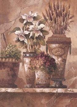 Poster Floral Elegance I
