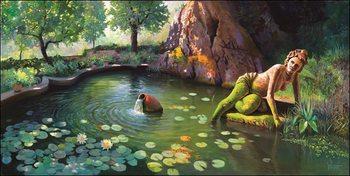 Konsttryck Fontana di Venere
