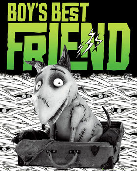 FRANKENWEENIE - best friend poster