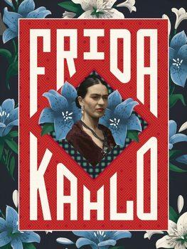 Konsttryck Frida Khalo