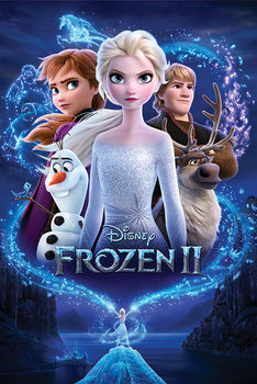 Плакат Frozen 2 - Magic