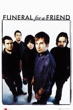 Poster Funeral for a friend - band