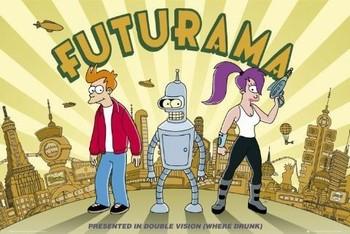 Póster FUTURAMA - double vision