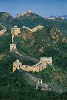 Poster Great wall of China