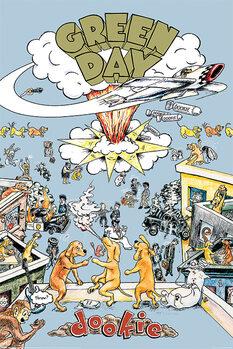 Плакат Green Day - Dookie