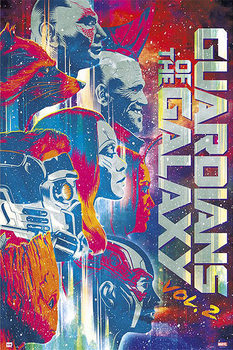 Poster Guardians Of The Galaxy Vol. 2