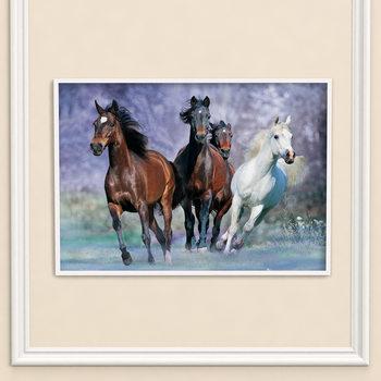 Poster Hästar - Running, Bob Langrish
