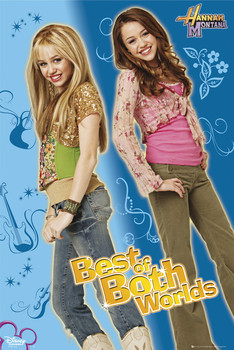 Poster HANNAH MONTANA - best of both worlds