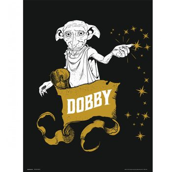 Konsttryck Harry Potter - Dobby