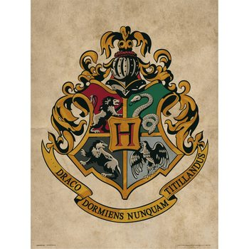 Harry Potter - Hogwarts Crest Kunstdruck